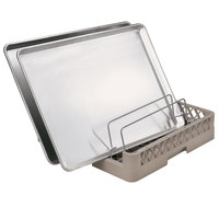 Vollrath TR23 Traex Full-Size Beige Open End Sheet Pan / Tray Rack