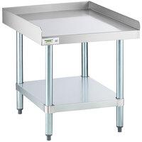 Regency 30 inch x 24 inch 16-Gauge Stainless Steel Equipment Stand with Galvanized Undershelf