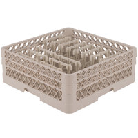 Vollrath TR3AAP14 Traex Beige Extended Peg Rack for 12 1/4 inch Diameter Plates