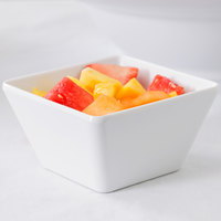 American Metalcraft MELSQ53 Endurance 23 oz. Square Melamine Serving Bowl