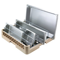 Vollrath TR22 Traex® Full-Size Beige Open End Steam Table Pan Rack