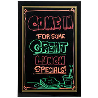 24 inch X 36 inch Black Write-On Sign Board for A-Frame Easel Sidewalk Sign RMB-2436B