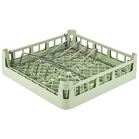 Vollrath 52664 Signature Full-Size Light Green Open End Sheet Pan / Tray Rack