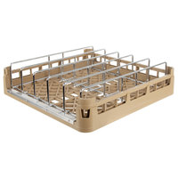 Vollrath 52669 Signature Full-Size Beige Open End Steam Table Pan Rack