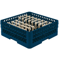 Vollrath TR3AAP14 Traex® Royal Blue Extended Peg Rack for 12 1/4 inch Diameter Plates