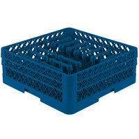 Vollrath TR3AAP14 Traex Royal Blue Extended Peg Rack for 12 1/4 inch Diameter Plates