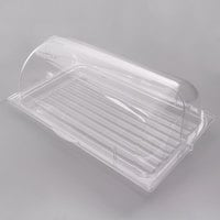 Sample and Display Tray Kit with Clear Polycarbonate Tray and Roll Top Cover - 12 inch x 20 inch