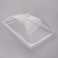 Sample and Display Tray Kit with Clear Polycarbonate Tray and Dome Cover - 12 inch x 20 inch
