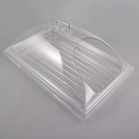 Sample and Display Tray Kit with Clear Polycarbonate Tray and End Cut Cover - 12 inch x 20 inch