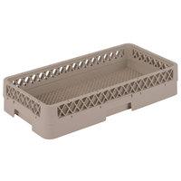 Vollrath HR2A Traex® Half-Size Beige Flatware Rack