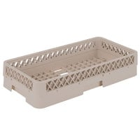 Vollrath HR1A Traex Half-Size Beige 3 3/16 inch Open Rack with 1 Extender