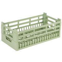 Vollrath 52802 Signature Half-Size Light Green 7 1/8 inch Tall Open Rack