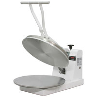 DoughXpress DM-18 Manual Pizza Dough Press - 18 inch, 220V