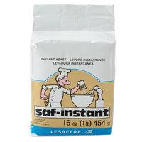 Lesaffre SAF-Instant Yeast 1 lb. Vacuum Pack - 20/Case