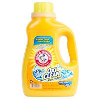 Arm & Hammer 61.25 oz. Plus OxiClean Liquid Laundry Detergent - 6/Case