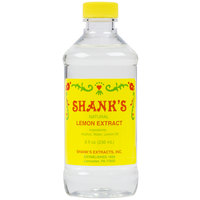 Shank's 8 oz. Pure Lemon Extract