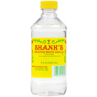 Shank's 8 oz. White Imitation Vanilla