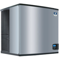 Manitowoc IY-1106W Indigo Series 30 inch Water Cooled Half Size Cube Ice Machine - 208V, 1 Phase, 1200 lb.