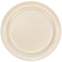 Thunder Group NS109T 9 inch Narrow Rim Thunder Group Nustone Melamine Plate - Tan - 12/Pack