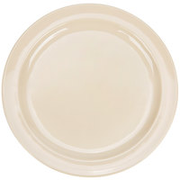 9 inch Narrow Rim Nustone Melamine Plate - Tan - 12/Pack