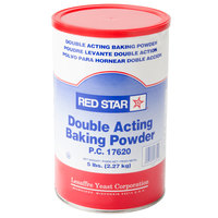 Double Acting Baking Powder 5 lb. Canister   - 6/Case