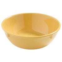 Carlisle 4386222 Honey Yellow Dayton 10 oz. Nappie Bowl - 48/Case