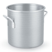 30 Qt. Vollrath Wear Ever Classic 430712 Aluminum Rolled Edge Stock Pot
