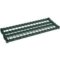 Metro 2460DRK3 60 inch x 24 inch Metroseal 3 Heavy Duty Dunnage Shelf with Wire Mat - 1000 lb. Capacity