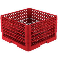 Vollrath PM2011-5 Traex Red 20 Compartment Plate Rack - 10 inch-10 3/4 inch