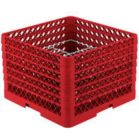 Vollrath PM2011-6 Traex Red 20 Compartment Plate Rack - 10 3/4 inch-11 inch