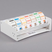 Noble Products Elevated 7-Slot Dispenser with Noble Products Dissolvable 1 inch Day of the Week Labels
