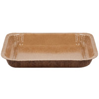 Solut 91136 8 1/2 inch x 6 inch Bake and Show Corrugated Paperboard Entree / Brownie Pan   - 360/Case
