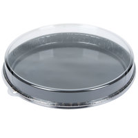 Solut 68155-CP 13 inch Bake and Show Takeout Cookie Tray / Pizza Tray with Lid - 25/Case