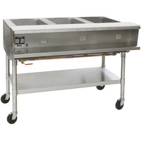 Eagle Group SPHT5 Portable Steam Table - Five Pan - Sealed Well