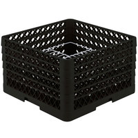 Vollrath PM2011-5 Traex Black 20 Compartment Plate Rack - 10 inch-10 3/4 inch