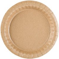 Solut 27020 7 1/2 inch Coated Kraft Paper Plate - 100/Pack