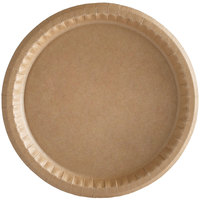 Solut 20020 10 1/4 inch Coated Kraft Paper Plate - 100/Pack