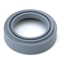 T&S 007861-45 2 3/4 inch Gray Rubber Bumper for B-0107 Spray Valves