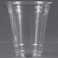 Choice 12 oz. Clear PET Plastic Cold Cup - 1000 / Case
