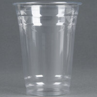 Choice 16 oz. Clear PET Plastic Cold Cup - 1000 / Case