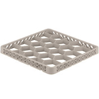 Vollrath TRG-32 Traex® Full-Size Beige 20 Compartment Glass Rack Extender