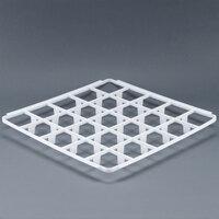 Vollrath 5230810 Signature Full-Size 25 Compartment Glass Rack Trim Divider