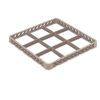 Vollrath TRF-32 Traex® Full-Size Beige 9 Compartment Glass Rack Extender