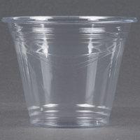 Choice 9 oz. Clear PET Plastic Squat Cold Cup - 50 / Pack