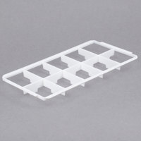 Vollrath 5231110 Signature Half-Size 10 Compartment Glass Rack Trim Divider