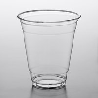 Choice 12 oz. Clear Plastic Cold Cup - 50/Pack