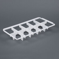 Vollrath 5231380 Signature Half-Size 10 Compartment Glass Rack Divider