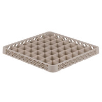 Vollrath TRE-32 Traex® Full-Size Beige 49 Compartment Glass Rack Extender