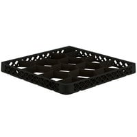 Vollrath TRJ Black Full-Size 12 Compartment Extender for Vollrath Traex Glass Racks