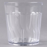 Dinex DX4GC907 9 oz. Clear Swirl SAN Tumbler - 72/Case